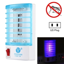 Bulk buy from china Efficient 4-LED Blue mosquito killer lamp, US Plug, AC110V mosquito killer, Newest indoor mosquito killer