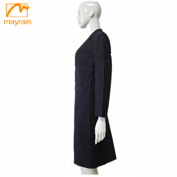 Europe USA adults age woven long wind ladies coat