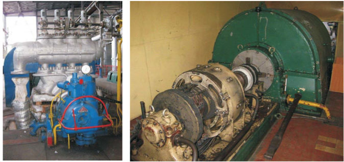 6 MW Multi Stage Back Pressure Steam Turbine - ST166