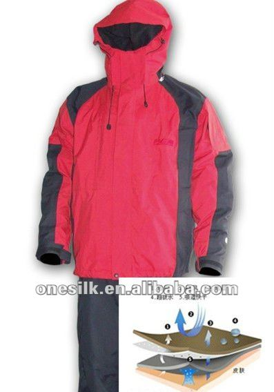 Dull nylon oxford taslon fabric breathable & water repellent
