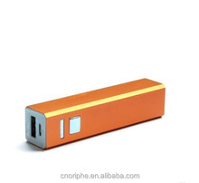 Good quality Small power bank logo with Indicator light