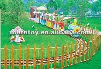 EXCITING GAME ,AMUSEMENT PARK ELECTRIC TRAIN RIDE(A-12001)