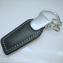 Promotion Gift Customized Logo custom made Car custom metal leather keychain