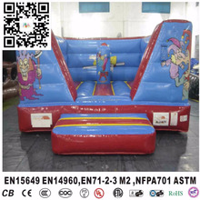 Mini indoor inflatable bouncers for toddlers 4X3X2 m with EN14960