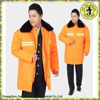 Winter Hi Vis Reflective Tape Safty Thickness Men Workwear Coats