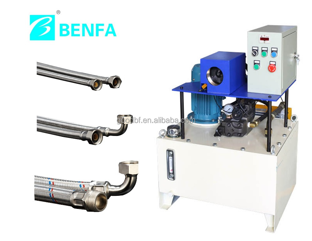 2015 Benfa Hotest Sell BFKY-42B Pipe Hose Locking Machine