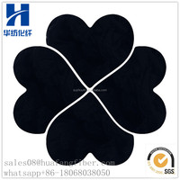 100% Recycled Polyester Staple Fiber Black PSF