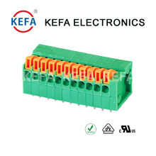 Good quality spring cage clamp terminal block KEFA brand UL CE
