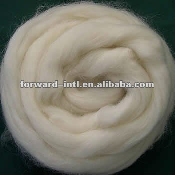 fine animal hair carded and combed cashmere tops