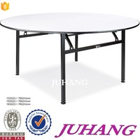 wholesale price banquet plywood white restaurant table