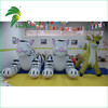 Hongyi Manufacturing Inflatable White Tiger With Best Quality 0.4mm PVC And With High UV Printing