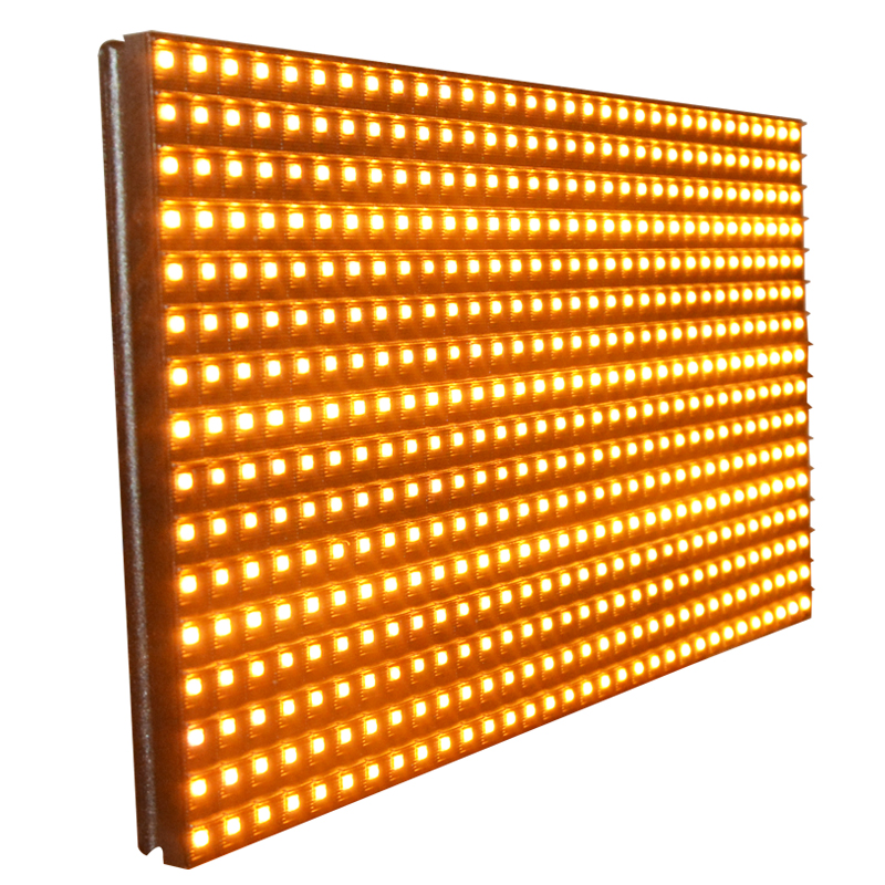 Pitch 10mm <strong>P10</strong> <strong>Amber</strong> Led Module 0utdoor