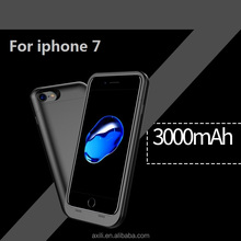 Gift Good quality Durable Ultra Thin very thin Battery mobile phone case cover for iphone7 4.7 inch 3000mah