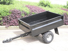 powder coated box trailer,ATV towed garden trailers,small garden trailer
