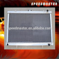 Auto aluminum radiator for N ISSAN 350Z 02-04 A/T