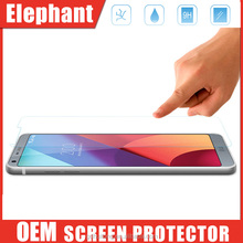 2.5D 0.33mm Premium Anti-scratch Tempered-glass Screen Protectors For LG G6, 9H Hardness For LG G6 2017 Screen