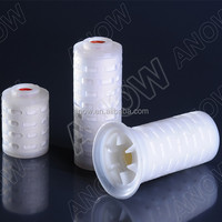 Beer or Wine Industry Intergrity Test Vent and Gas Sanitarty Hydrophobic PTFE Air Filter Cartridge Media