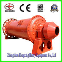 Horizontal cylindrical ball mill machine for grinding ores, chemicals