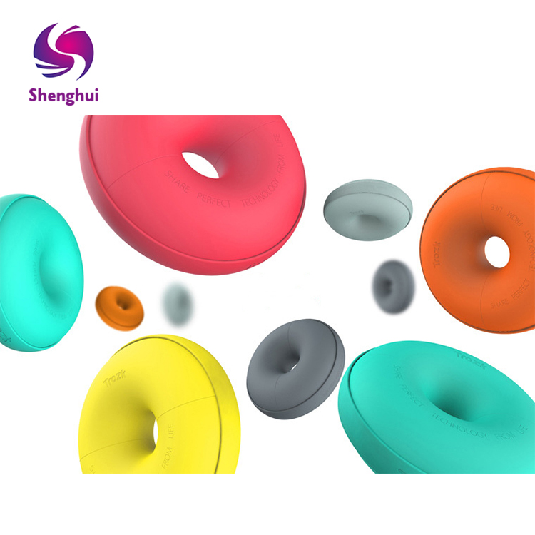 Doughnut usb socket travel creative smart charging station multi-function porous USB charging port