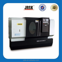 CK50 servo motor High Precision Metal Horizontal CNC lathe machine