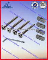 2014 high precision hardware customizable 304 stainless steel chair bolts