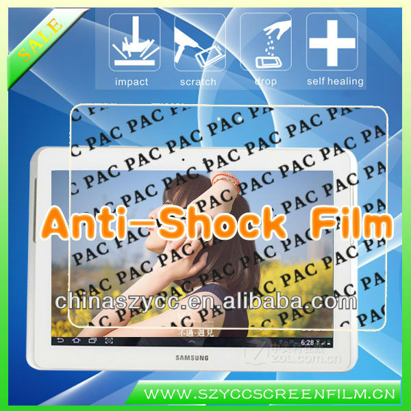 Anti-shock PAC Screen Protector For Samsung Galaxy Tab 2 P5100(Accept PayPal)