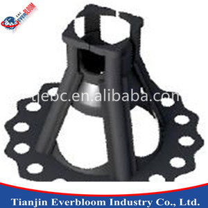 Slab on Ground PVC concrete plastic rebar chair spacers