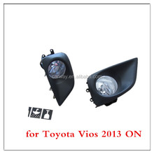 Auto spare parts accessories for Toyota Vios 2013 ON quality fog light