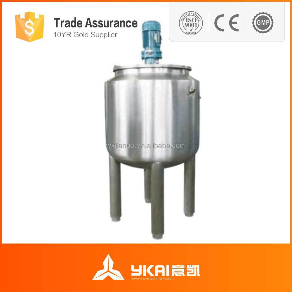 Agitator Mixer Type Chemical Stainless Steel Mixer Tanks