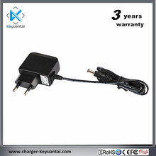 Kc certified 5v 2a wall mount adapter12v 1a travel charger usb wall adapter for LED light