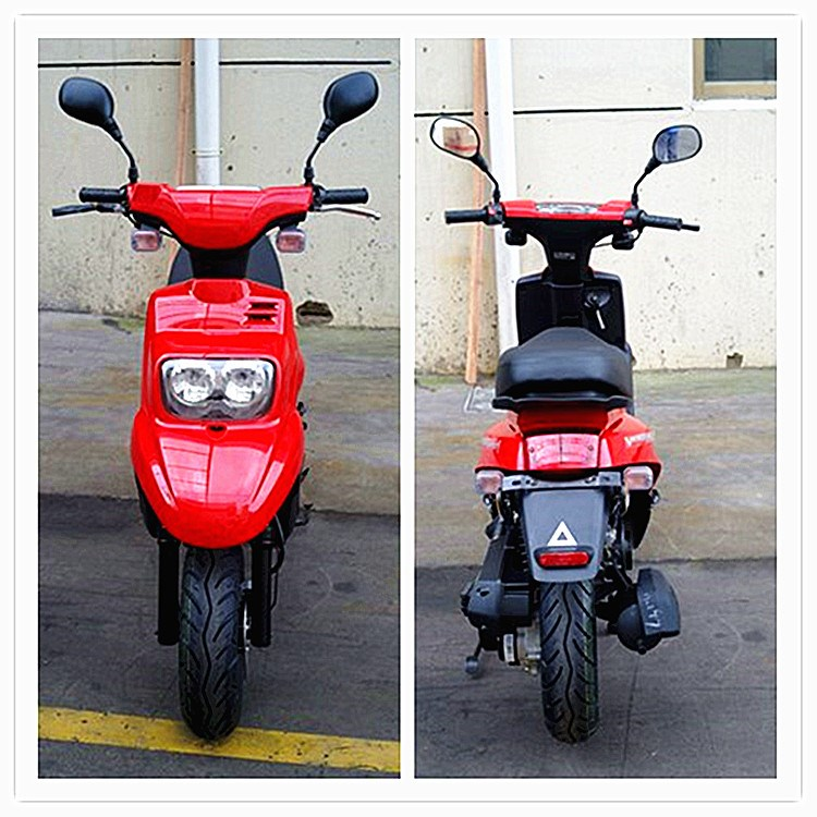 50cc 4 stroke red gasoline scooter