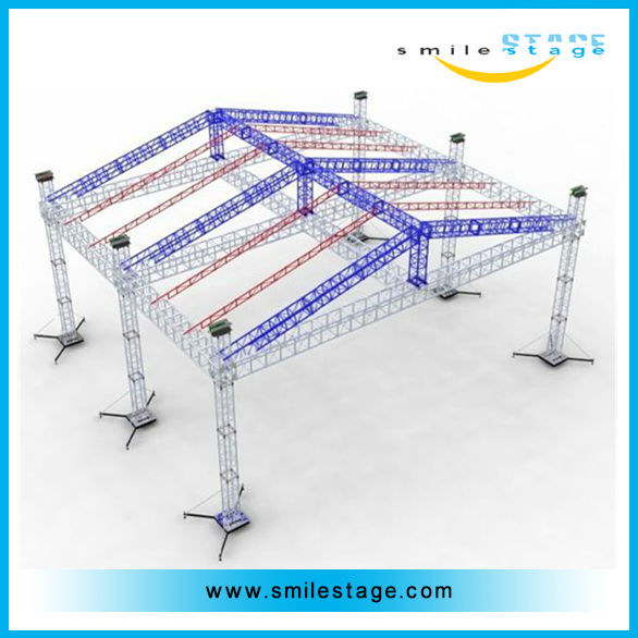 ceiling lighting truss system stage truss canopy