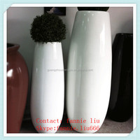 LF090142 Black and white ceramic flower pot/ceramic large cheap flower pots and planters