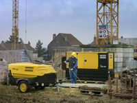 XAS97 Atlas copco portable compressor