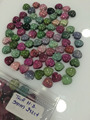 Heart Shape Multi Tourmaline Cabochons