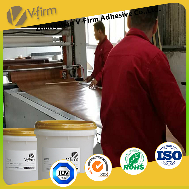 vacuum membrane Adhesive spray glue for wrapping High gloss PVC film with MDF