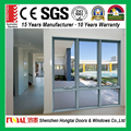 aluminium chain winder awning glass window China supplier