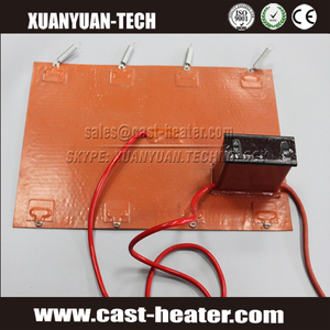 220V Silicone Rubber Heater for 3D Printer Heated Beds