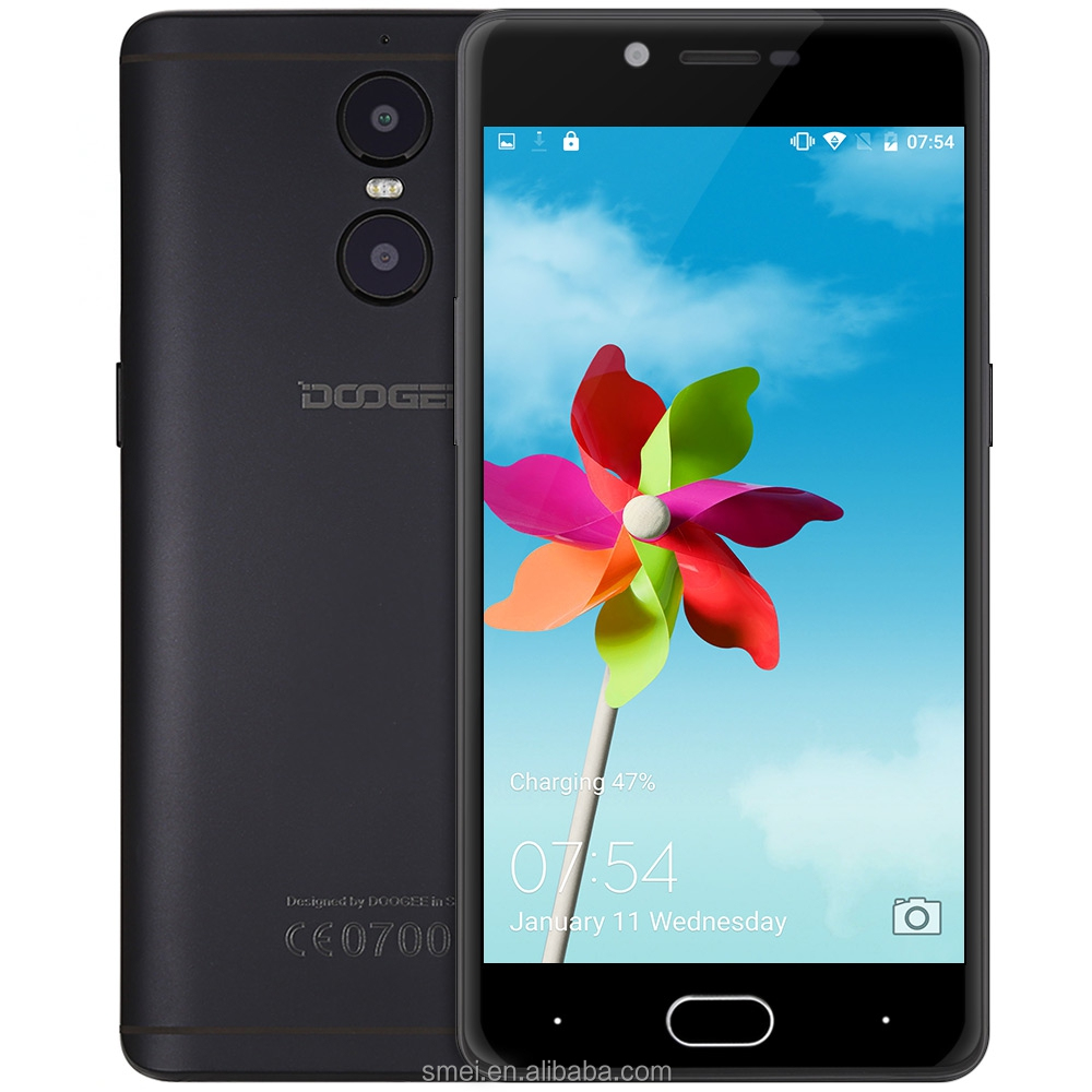 Doogee Shoot 1 4G Phablet Android 6.0 5.5 inch MTK6737 1.5GHz Quad Core 2GB RAM 16GB ROM 13.0MP Mobile <strong>Phone</strong>