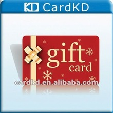Full color High Quality PVC gift promotional card