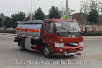 Factory direct sale mini 4X2 Petrol / Gasoline Tansport Truck Dongfeng Fuel Tanker Truck