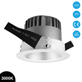 10W 4 Inch Trim Recessed Slim Gimbal Grille COB Downlight LED R3B0201