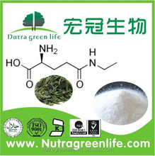 Pure natural organic Green tea extract, L-Theanine, best price