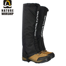 Wholesale Hiking Snow Rainy Ski Hunting Boots Gaiters Militery Climbing Leg Gaiters Outdoor Sports