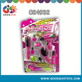 Hot selling plastic funny mini hair salon set toy with lovely beauty doll for sale