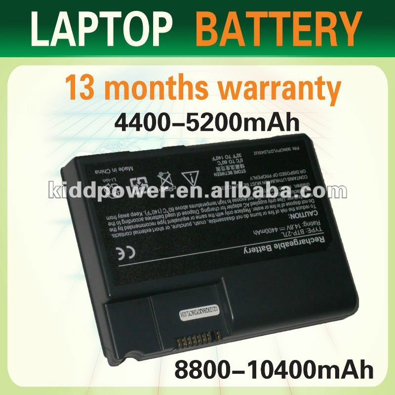 replacement laptop battery for Acer TM270 TM550 BATBY27L 1200