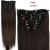 Aisi Hair 16 Clips 6pcs/set Synthetic Clips in Hair Extension Long Straight Hairpiece