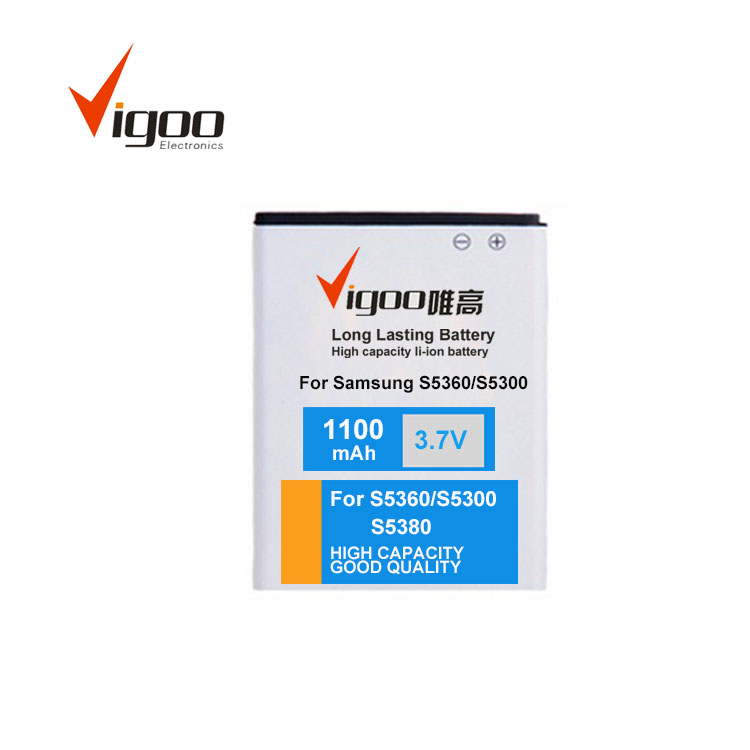 Cell phone batteries olympus mobile phone battery for Samsung S5360 S5300 S5380