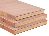 Poplar faced Block board plywood for furniture