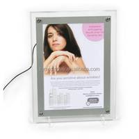 magnetic lightbox/battery operated light box/battery powered led light box